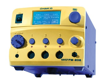 Hakko FM-206 3-Port Rework Station