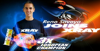 Renaud Savoya Signs With Team XRAY