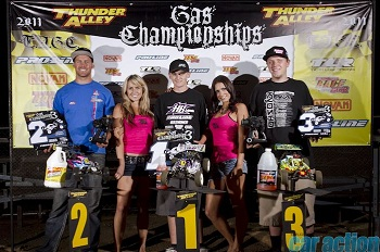 Thunder Alley Gas Championships: Ty Tessman Sweeps 1/8 Nitro Expert Buggy And Truggy