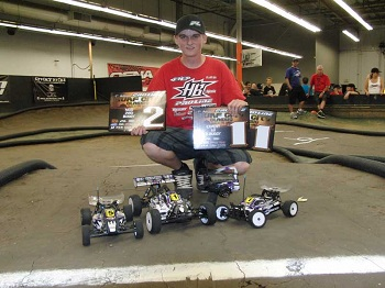 Pro-Line Surf City Classic: Ty Tessman Wins Invite 4WD And 1/8 Electric Buggy; 2nd In Invite Mod Buggy