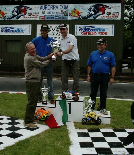 Ted Longshaw, Former IFMAR President & Honorary Lifetime President Has Passed Away