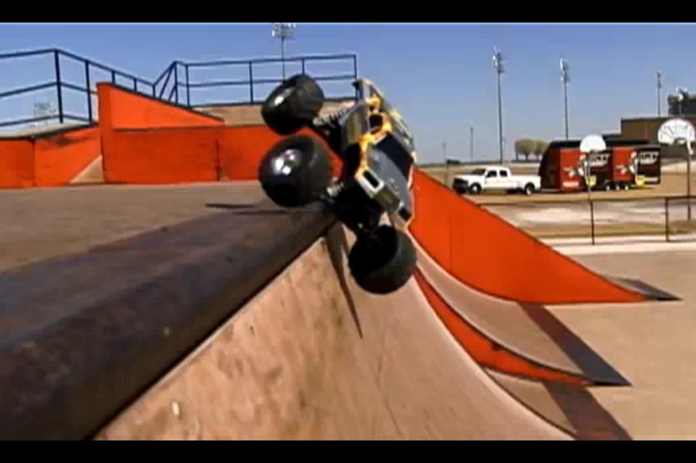 Traxxas Monster Jam Replica Trucks Hit The Skate Park