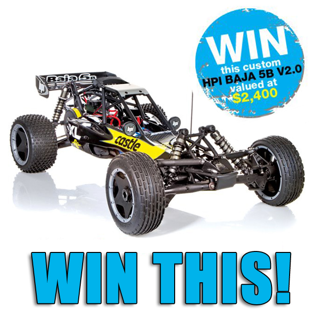 Win this custom HPI BAJA 5B V2.0!
