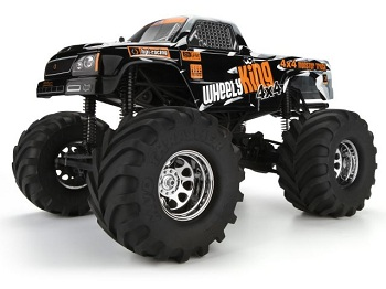 HPI Updates The Wheely King 4X4