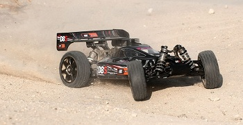 HPI D8S 4WD 1/8-scale Nitro Buggy
