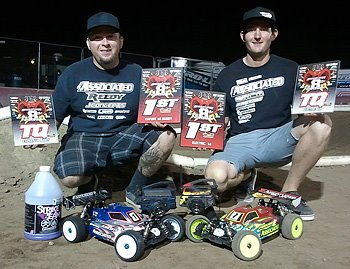 Team Associated Flyin' Ryans Win Big at Sidewinder Nitro Explosion