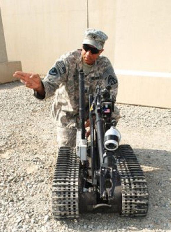 RC in Combat–Army Robot Repair