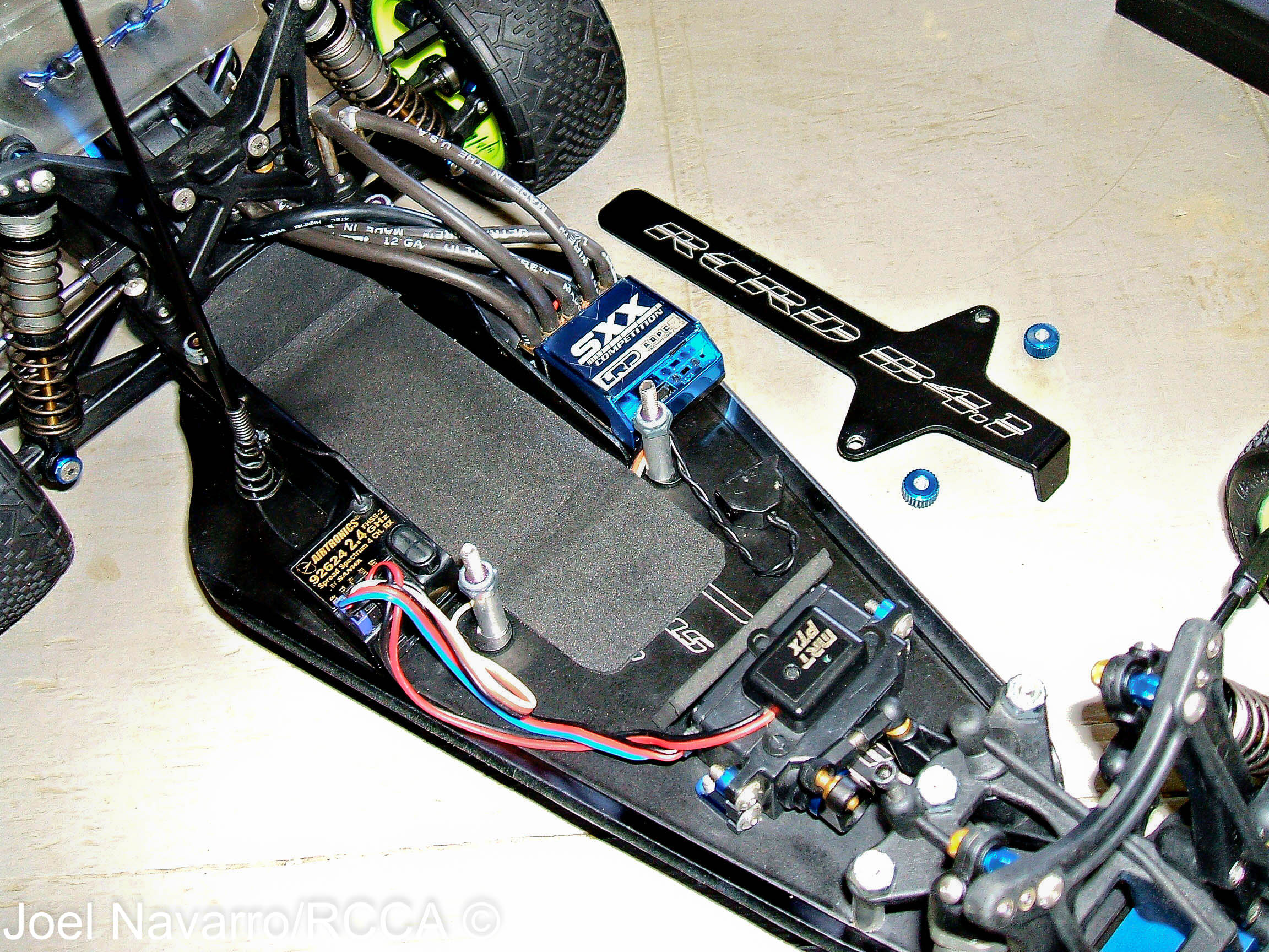 Team RCRD B4.1 Longer Aluminum Chassis Conversion