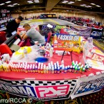 Parma's booth manned by CFX's Charlie Barnes.