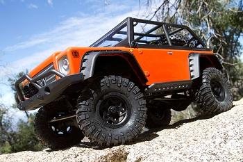 Axial SCX10 Dingo Body 1/10 Electric 4WD Truck Kit