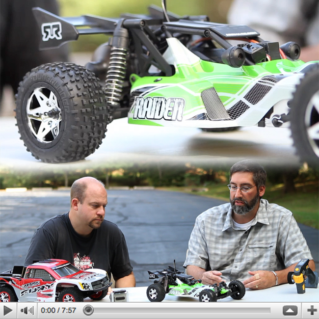 Arrma Fury and Raider VIDEO Review