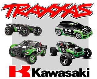 Traxxas Kawasaki Lineup