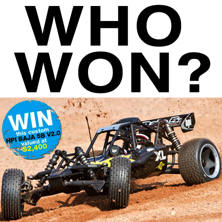 RC Car Action Announces Winner