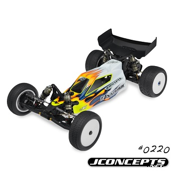 JConcepts Finnisher Body And Hi-Clearance Wing For The TLR 22 And Team Durango DEX210