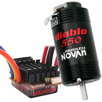 Novak Diablo Dual Battery Brushless 550 System