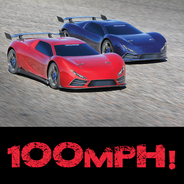 100MPH Traxxas XO-1. WOW!