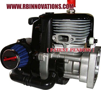 RB Innovations Baja 5 B/T Pull Start Filter System