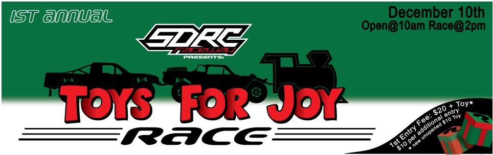 Participate in your local Toys 4 Tots Race!