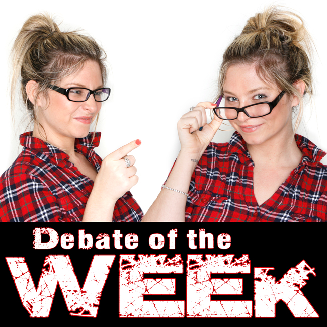 The Weekly Debate Question