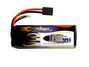 MaxAmps.com 10900mah 2-Cell 120C LiPo Battery Pack