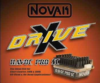 Novak Havoc Pro SC ESC Updated With New X-Drive Technology