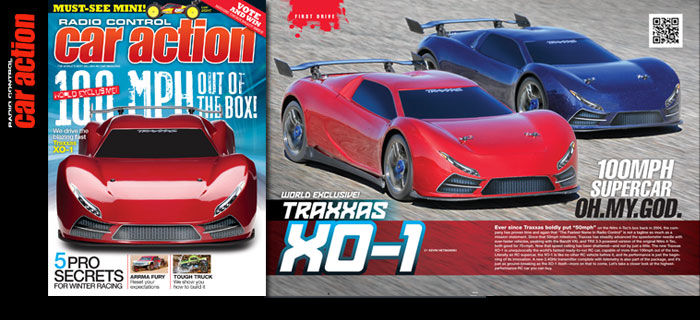 World Exclusive: Traxxas XO1