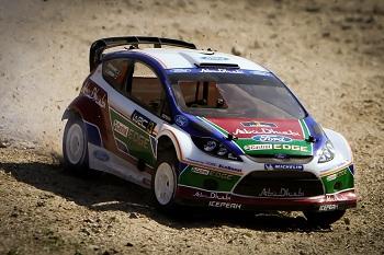 HPI RTR WR8 3.0 Ford Fiesta Abu Dhabi Castrol WRC Nitro Rally Car