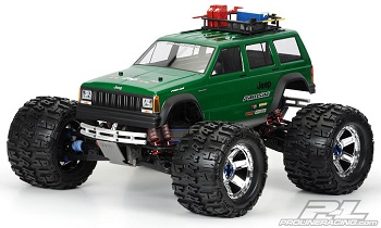 Pro-Line 1992 Jeep Cherokee Monster Truck Body