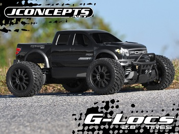 JConcepts 2.8″ G-Locs Tire And Rulux Wheel