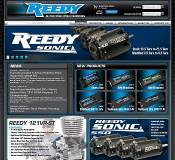 Reedy Launches New Web Site