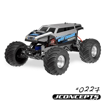 JConcepts Gate Crasher Monster Truck Body For Traxxas Monster Jam Replicas