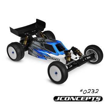 JConcepts Kyosho RB-5 WC Finnisher Body And Hi-Clearance Wing