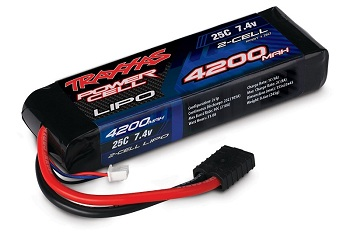 Traxxas Power Cell LiPo 4200 And 5000mAh 2S Packs