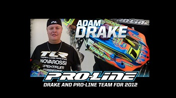 Adam Drake Partnering With Pro-Line For 2012