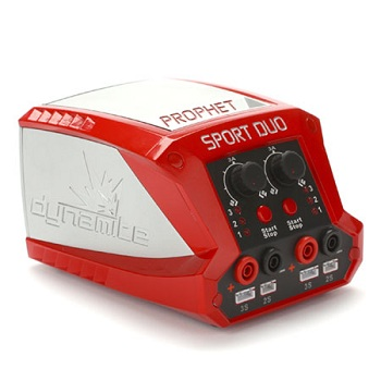 Dynamite RC Prophet Sport LiPo Duo 50WX2 Dual Battery Charger