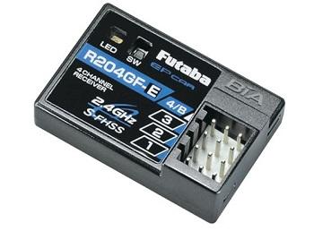 Futaba R204GF-E S-FHSS 2.4GHz 4-Channel HV Micro Receiver