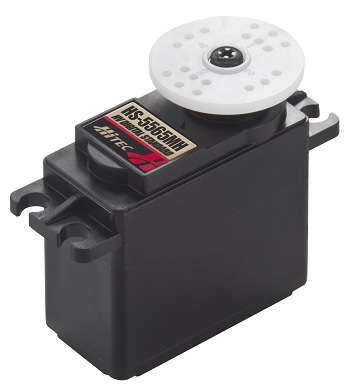 Hitec HS-5565MH And HS-5585MH Digital, High Voltage, Coreless Motor Servos