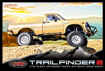 RC4WD Trail Finder 2 Truck Kit With Mojave Body Set
