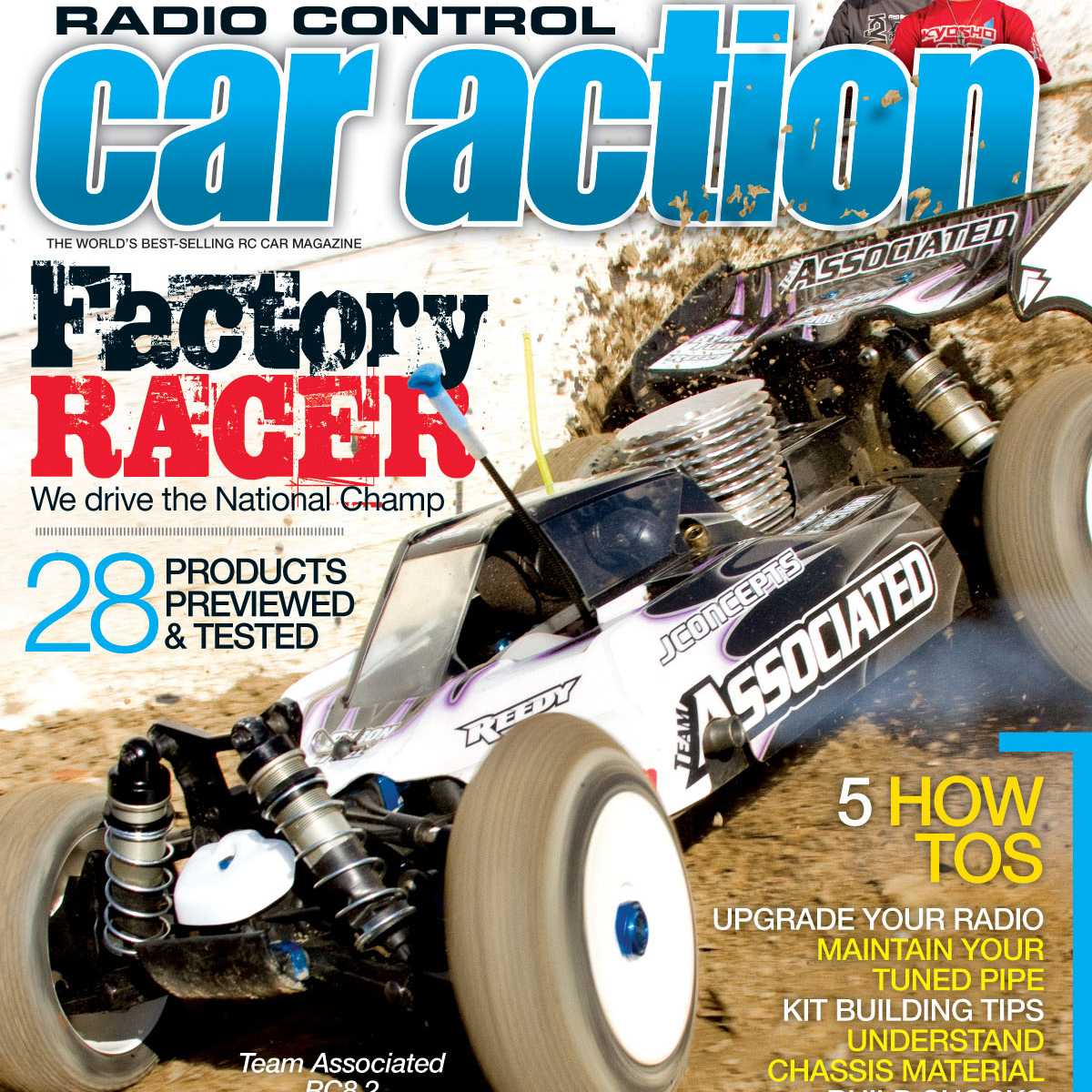 Radio Control Car Action March 2012 magazine on sale now.  Check out some photos from the issue!