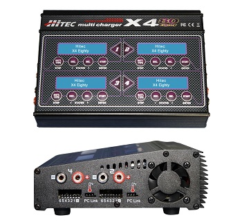 Hitec X4-80 Four-Port Multicharger