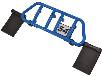 RPM 2WD SC10 Rear Bumper, Mud Flaps, And Number Plate, Plus A Rear Skid Plate For The SC10 4×4