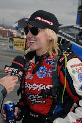 Traxxas Sponsored NHRA Driver Courtney Force In 6th Place After 2 Races