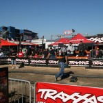 The Traxxas Try-Me Track was buzzing all day long with new RC'ers smiling ear to ear.