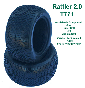Panther Rattler 2.0 1/10 Buggy Tires