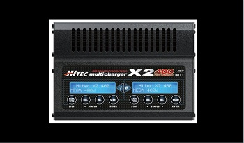 Hitec X2-400 2-Port Multicharger