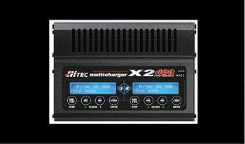 Hitec X2-400 2-Port Multicharger