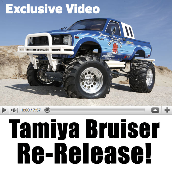 Tamiya Bruiser Re-Release: EXCLUSIVE VIDEO