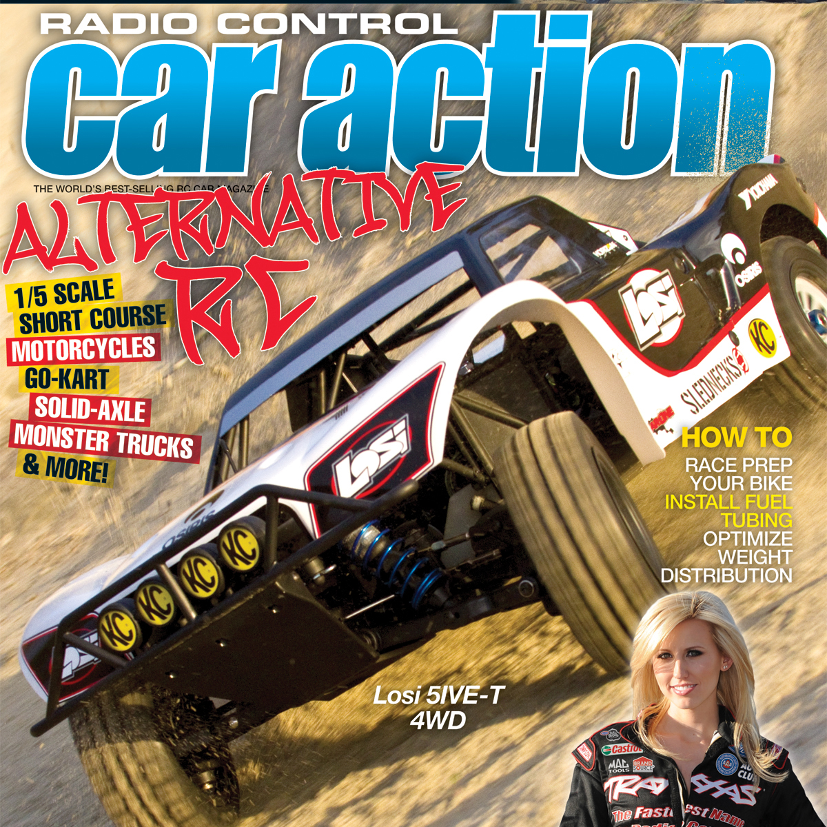 Radio Control Car Action April 2012 On Sale Now.  Check out some pics from the issue!