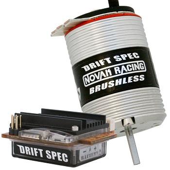 Novak Drift Spec Sensored Brushless System