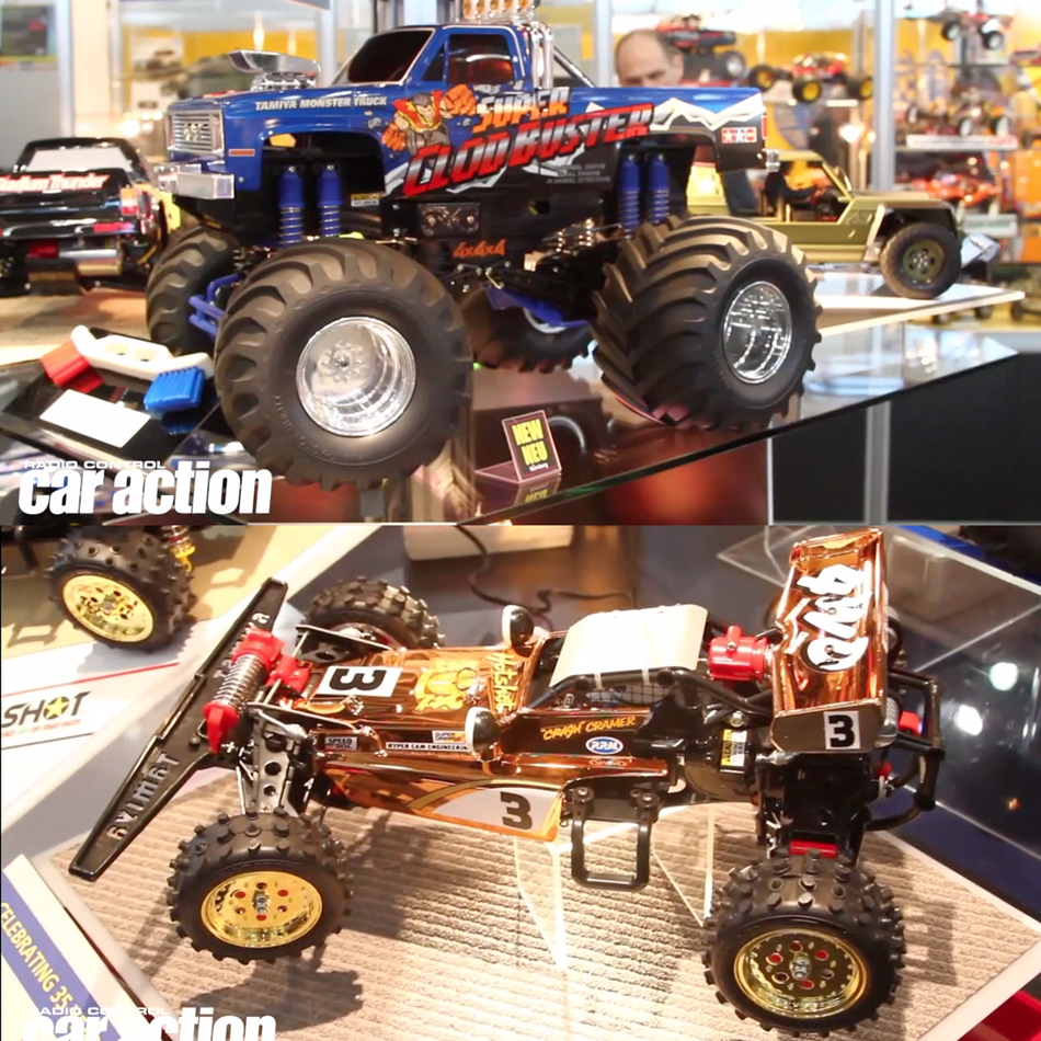 Tamiya Clod Buster & Gold Edition Hot Shot